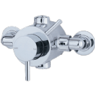 Exposed Thermostatic Shower Valve Modern lever design 1542